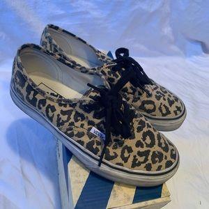 Vans: Authentic (Van Doren) leopard/black